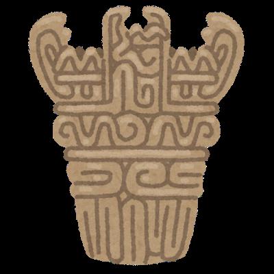 縄文土器のイラスト