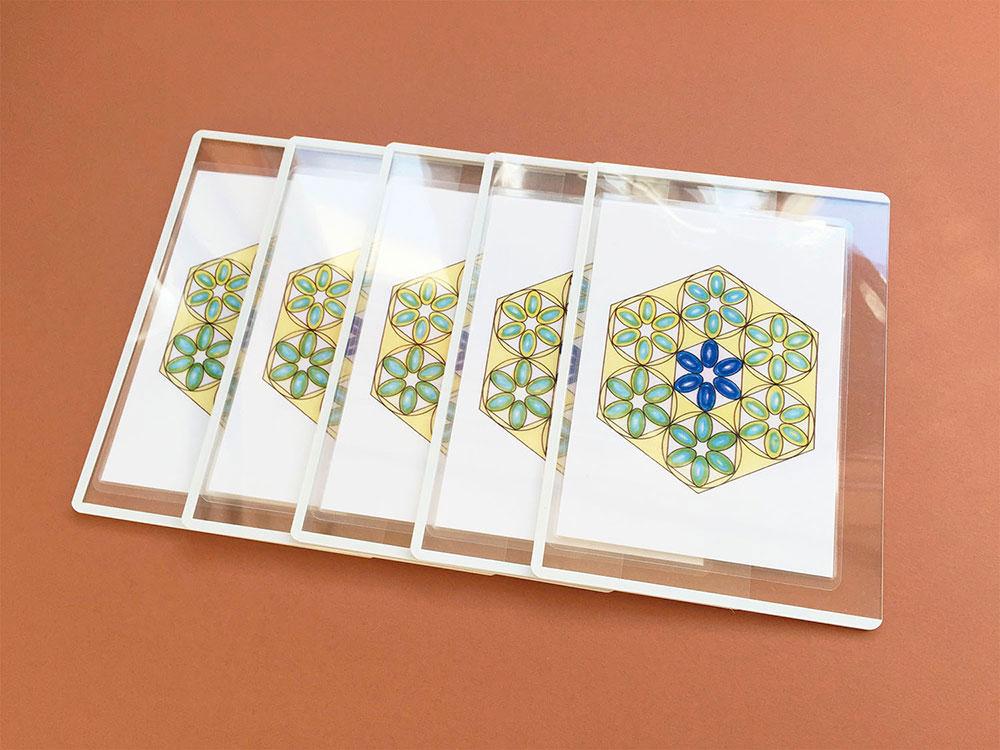 環境調和カード住居用 5枚組一式
