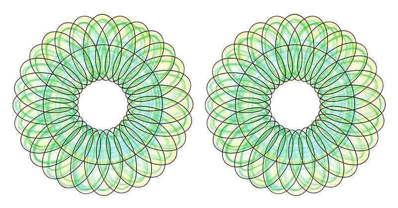 回転球体素粒子振動波