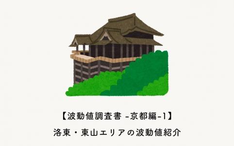 洛東・東山エリアの波動値紹介