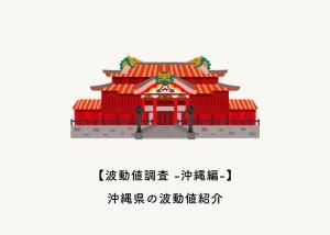 【波動値調査 -沖縄編-】沖縄県の波動値紹介