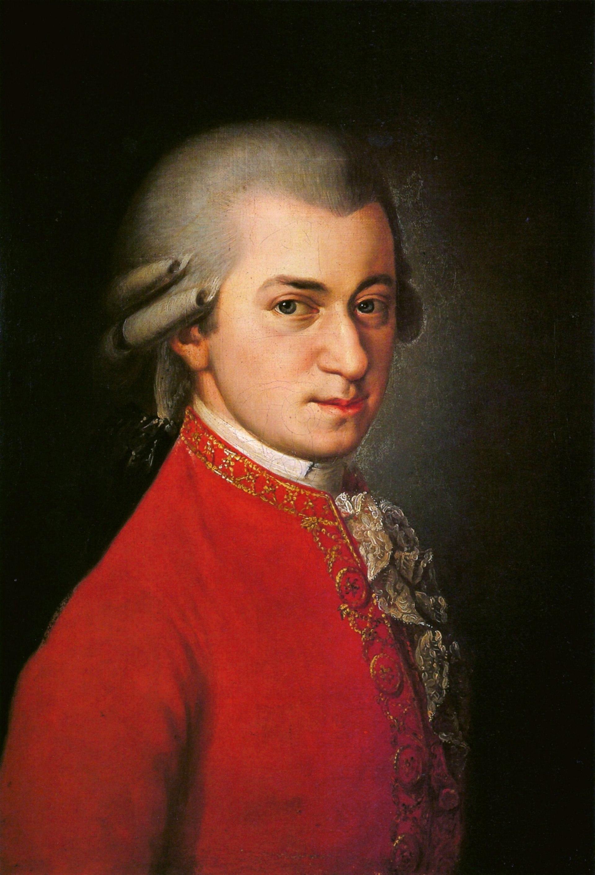 モーツァルトの写真