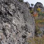 紅葉の裏霊山