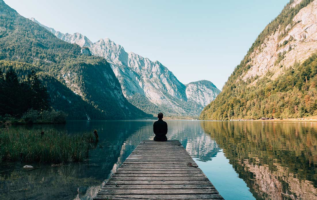 瞑想のイメージ